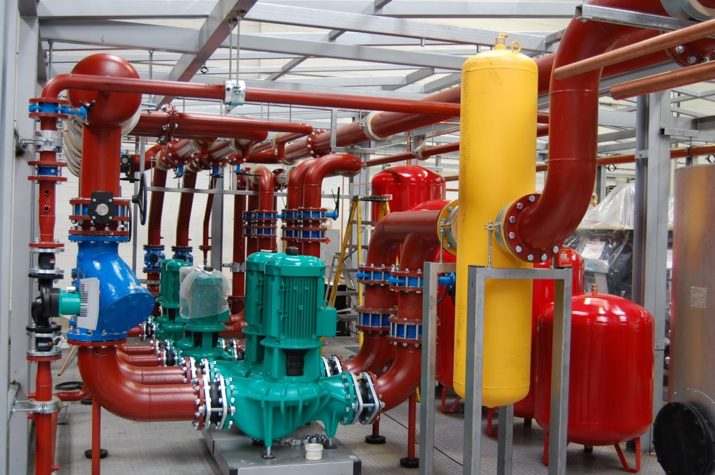 Chilled water pump installation method statement