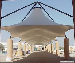 tensile fabric shades structure installation method statement