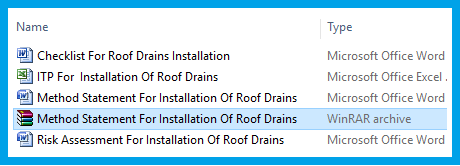 Method Statement For Installation Of Roof Drains