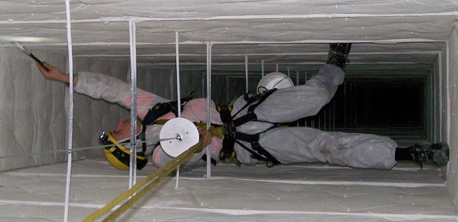 Method Statement for The Cleaning Of HVAC Ducts & Accessories