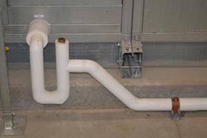 drainage pipe installation