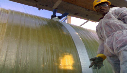 GRP Pipe Installation and Lamination Method Statement