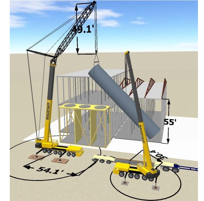 Lifting Plan Template Sample For Crane Lift HSE